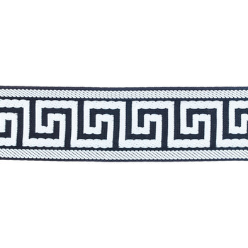 Black & White Greek Key Trim